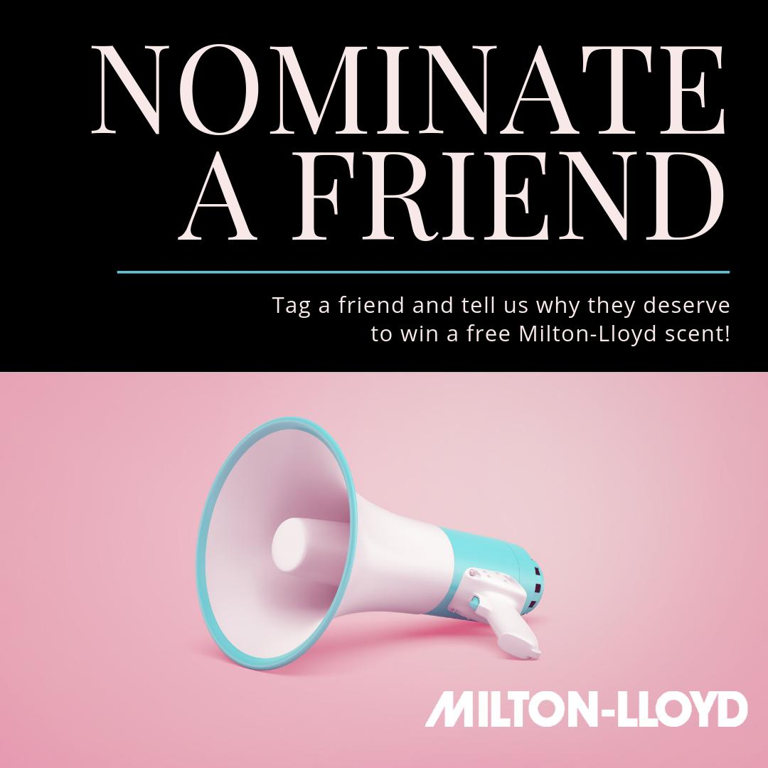 #CompetitionTime - Tag your bestie and tell us why they deserve a free bottle of perfume of their choice!   Winner announced on the 20th...good luck!  - #miltonlloyd #winner #competition #yourscent #yourperfume #perfume #fragrance #fragrances #perfumes<br>http://pic.twitter.com/uODV6Cvgu2