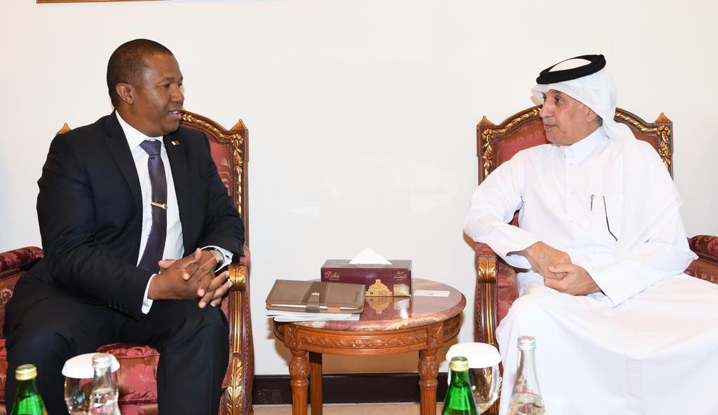 وزير الدولة للشؤون الخارجية يجتمع مع الأمين العام لرئاسة جمهورية #مدغشقرhttps://bit.ly/2miYVs2#وزارة_الخارجية_قطر