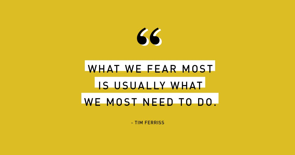 The first step is will always be the hardest.  @tferriss   #EverybodyStartsSomewhere #MondayMotivation https://t.co/ODJtiWL6hk