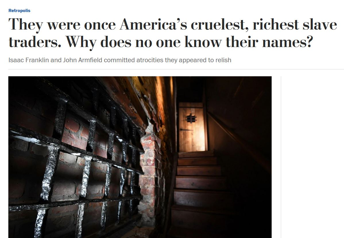 They were once America's cruelest, richest slave traders. Why does no one know their names? beta.washingtonpost.com/history/2019/0…