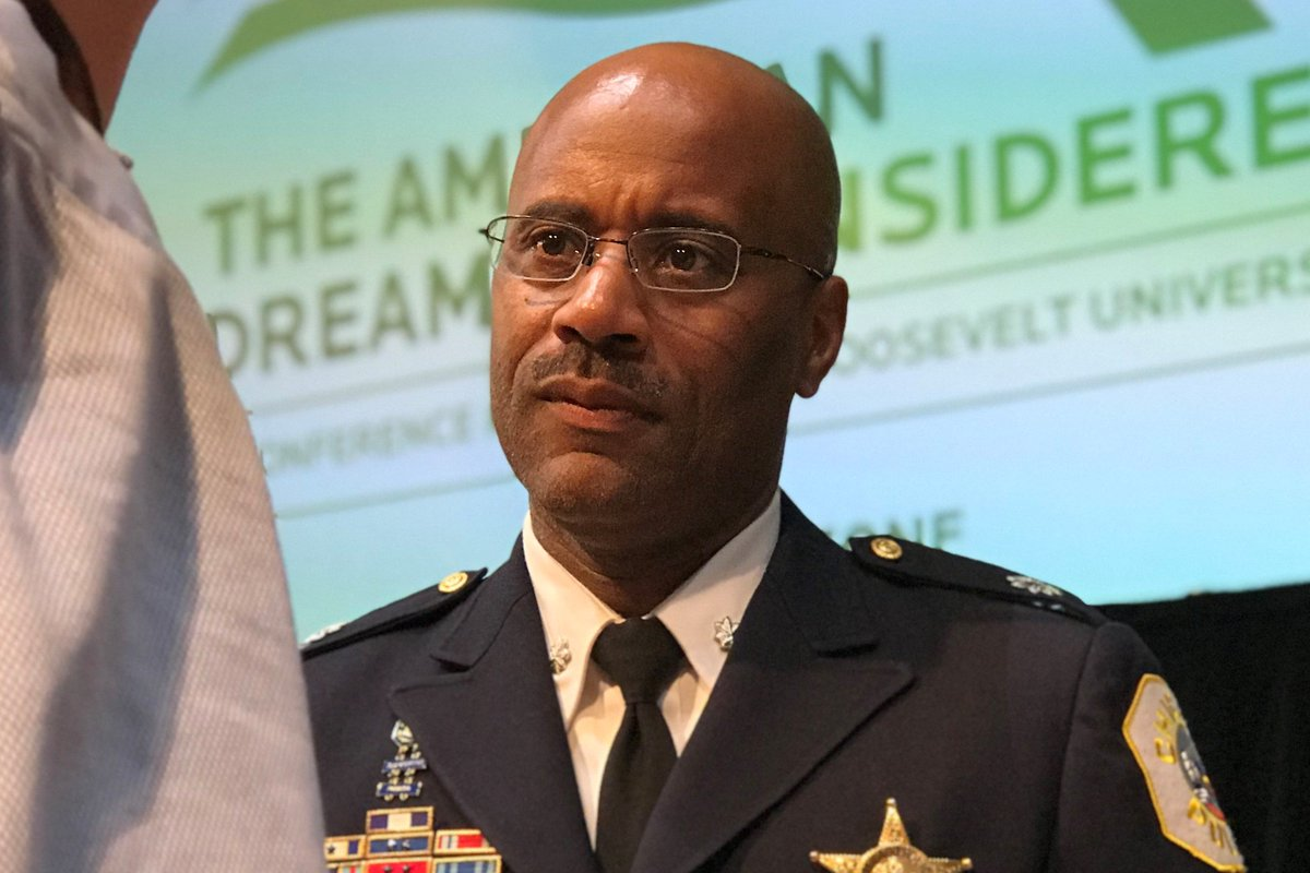 1/3A police commander on Chicago's West Side is crediting some former gang members for helping reduce his district's violent crime over the last two years.