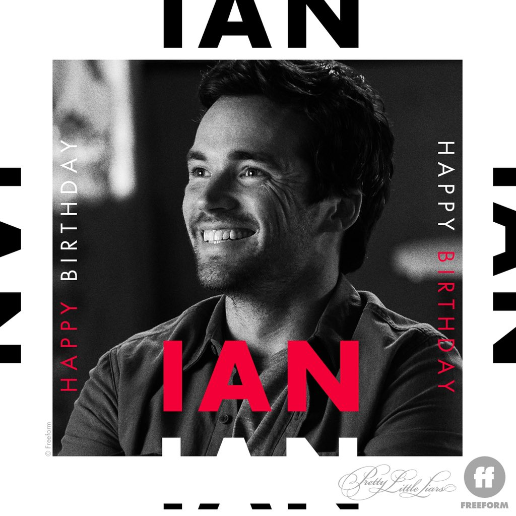 Happiest of birthdays to our hottie pretend professor, @IANMHARDING. Drop your love for Ian down below. 🎉♥️  P.S. Sending you lots of love + smiles. And laughs. Lots of laughs. https://t.co/gmoPki7O5I