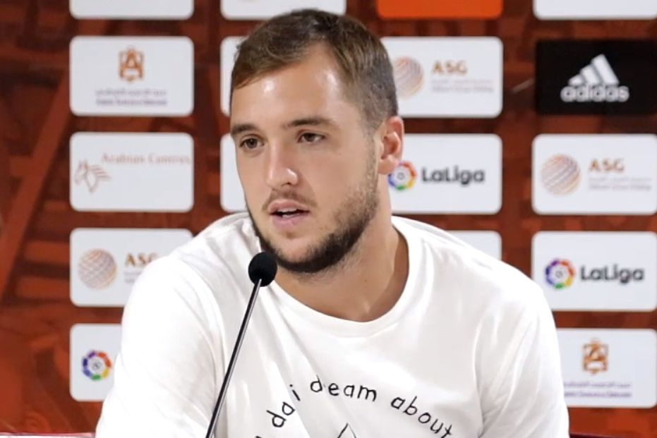 Le premier but de Valentin Vada avec Almeria (vidéo)   -> https://t.co/D9y9khPs1b  #Girondins https://t.co/Kcxwi2gwwR