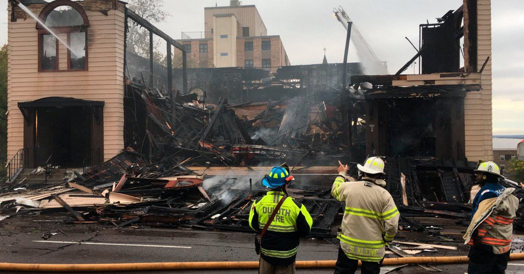 """""""Minnesota Police Arrest Man in Synagogue Fire"""" nyti.ms/32PuVUF"""