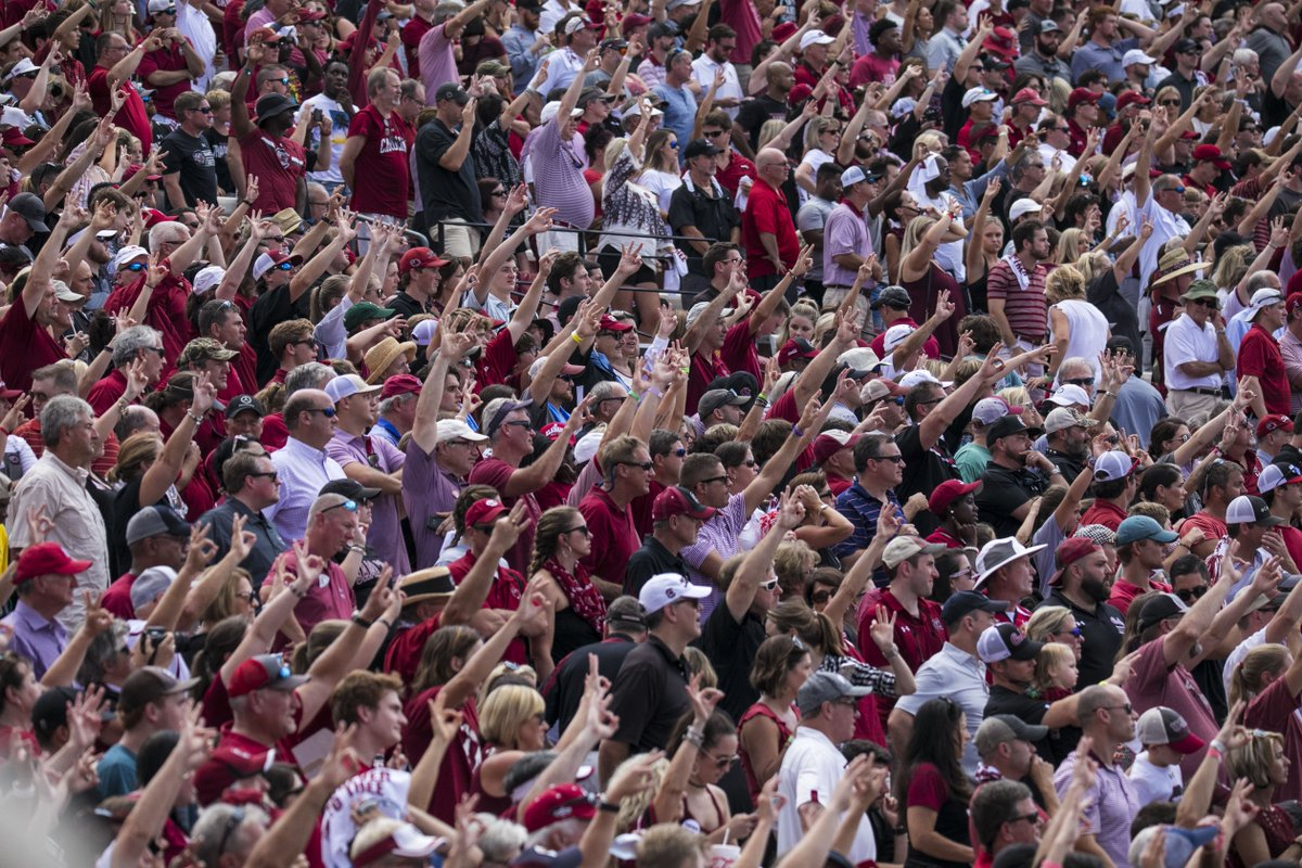You are not alone. #Gamecocks