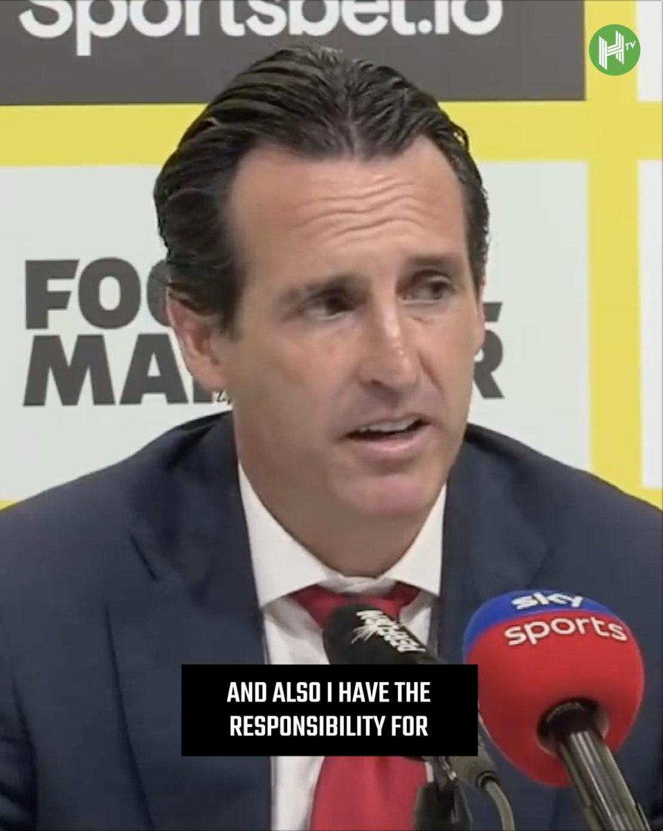 🗣 I have the responsibility for all decisions we are taking as a team. 😧 Our work is my responsibility. 👀 @Arsenal boss Unai Emery speaks out after losing a 2-0 lead to @WatfordFC. ✋ Taking the blame.