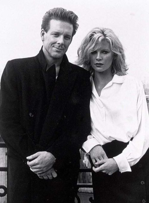 Happy birthday Mickey Rourke with Kim Basinger in 9 and a half weeks 1986.