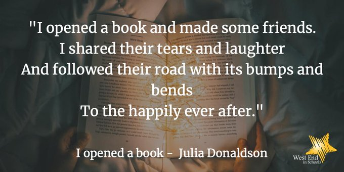 Happy Birthday to the wonderful author, and former Children\s Laureate, Julia Donaldson.