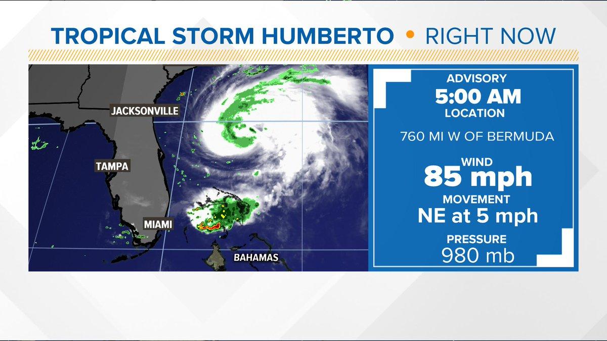 Hurricane Humberto update #wakeupclt  #cltwx<br>http://pic.twitter.com/UjeYtXupUl