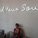 B.A.L.A.N.C.E   At TEAM LIVE, we love to step away from the desk and have a team lunch. This time away from our desk gives us time to restore balance, enthuse creativity and as the sign says 'Feed your Soul'!  #BalanceAwarenessWeek #CoreValue