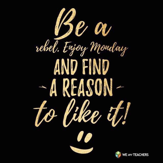 Let's make today amazing! Go out and #CelebrateMonday— smile, connect, and add-value to uplift others! Great  share from @PrincipalInce! #TrendthePositive #LEAPeffect<br>http://pic.twitter.com/Pwbli9gkyB