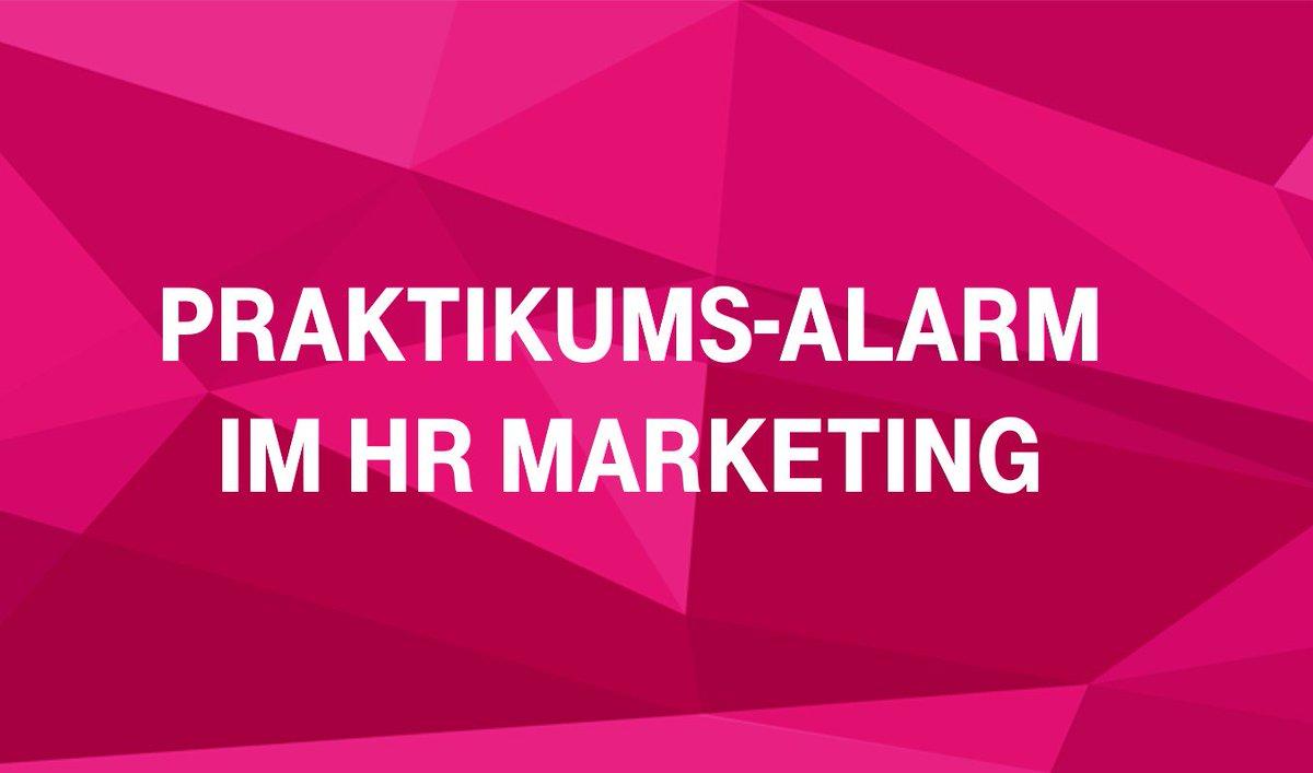 Social Media Post: ++Praktikums-Alarm im Bereich Social Media++ In deinem Alltag dreht...