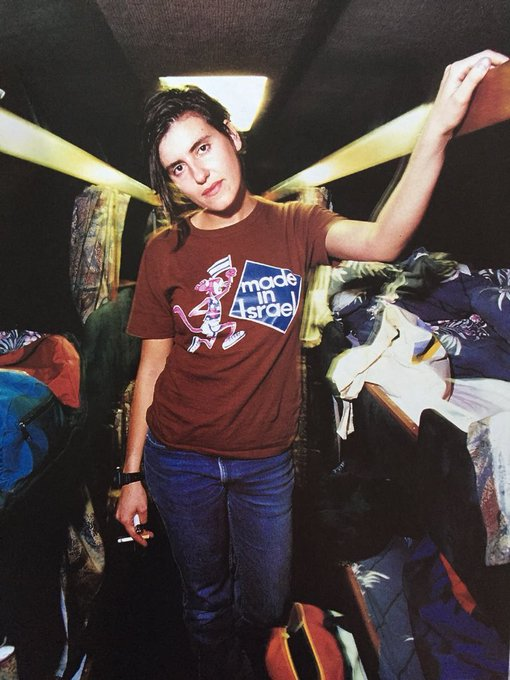 Happy 50th birthday to Justine Frischmann.  Now, dig out that Telecaster and reunite Elastica!