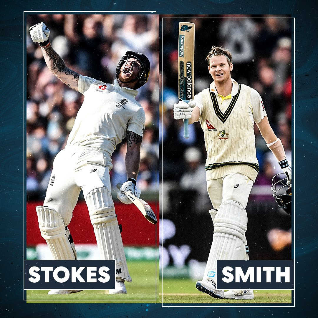 Two giants of cricket - who had the better summer?   Ben Stokes or Steve Smith   #CWC19 #Ashes<br>http://pic.twitter.com/Bq2QSRT1Jw