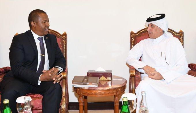 وزير الدولة للشؤون الخارجية يجتمع مع الأمين العام لرئاسة جمهورية #مدغشقرhttp://bit.ly/2lRwukE#الوطن #الدوحة #قطر
