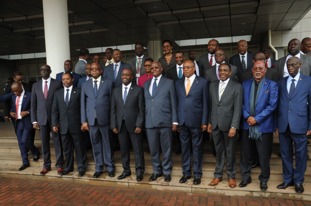 Official opening of the first meeting of the Ad hoc Commission of the Luanda Memorandum of Understanding between Rwanda and Uganda in Kigali. #UBCNews 📸 @UgandaMFA