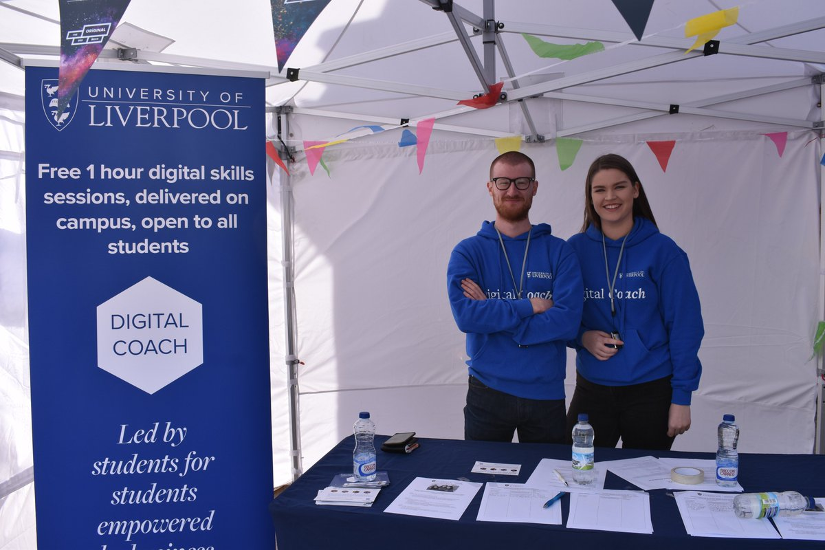 Wanting to brush up on your #DigitalSkills? Find out about the FREE sessions that the Digital Coaches will be delivering to @LivUni students throughout the year: bit.ly/2lYflWn Register your interest with Digital Coaches on University Square today! #HelloLivUni #Livuni