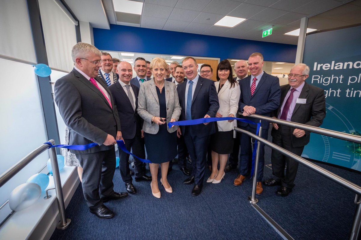 Yet more great news today with DMS Governance announcing 50 new jobs while officially opening their fantastic new #Cashel #Tipperary office - thank you to Minister @HHumphreysFG for attending - delighted to MC the event