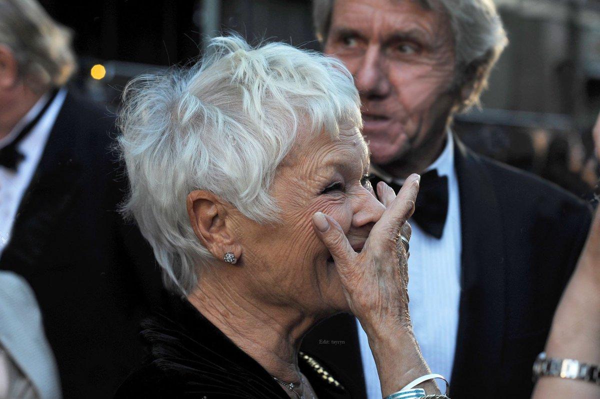 Day 1431 Laurence Olivier Awards, 2014 Photographer: Alan Davidson Edit credit: tayryn #JudiDench #OlivierAwards<br>http://pic.twitter.com/8IYyugViMj