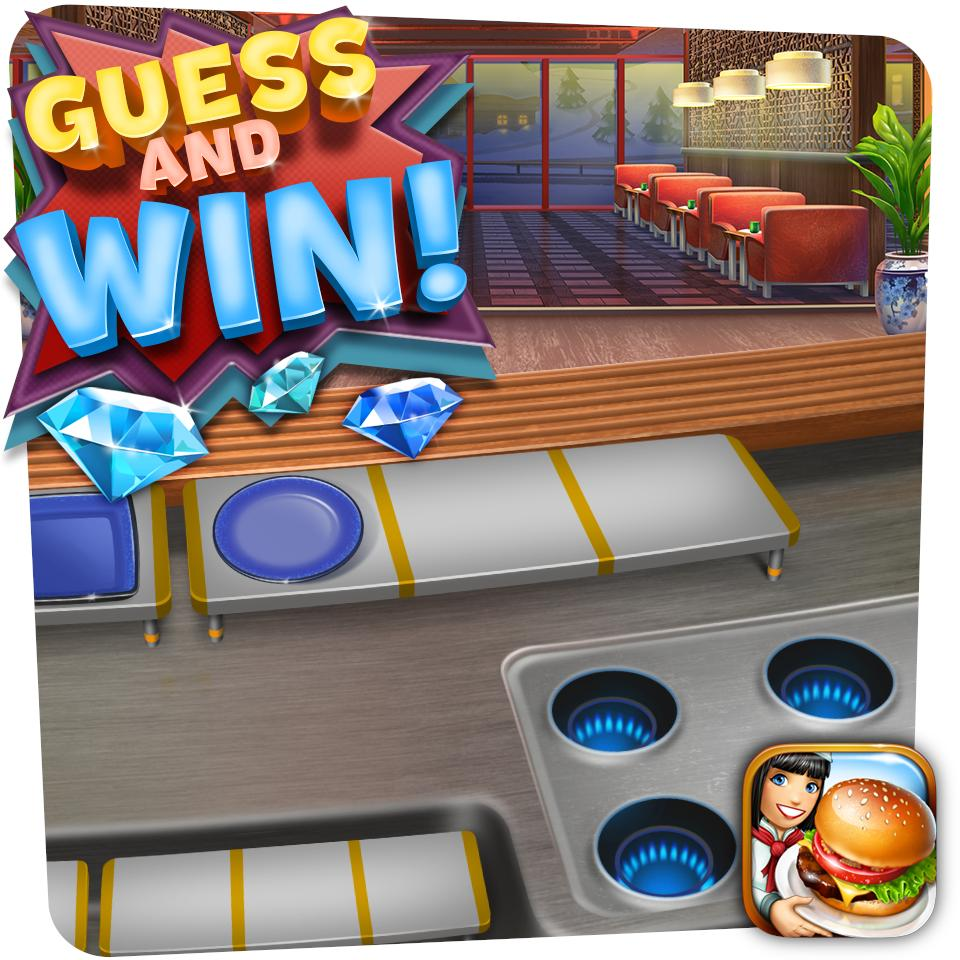 Our next restaurant is on the way and here's a sneak peek of it!  Guess the name of the restaurant for a chance to win 500 gems - one winner will be drawn from answers that will come the closest!  We'll announce the winner and reveal the restaurant soon! https://t.co/Uy1qitkDxV