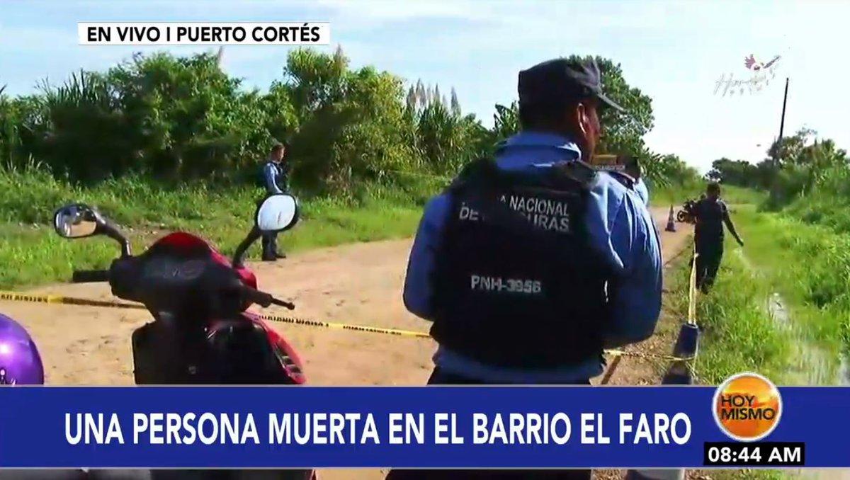 [EN VIVO] 🔴 |AHORA en #HoyMismo #PrimeraEdición, hasta el momento se desconoce la identidad de la persona encontrada muerta esta mañana en el barrio El Faro en Puerto Cortés.