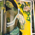Image for the Tweet beginning: A painting of a painting