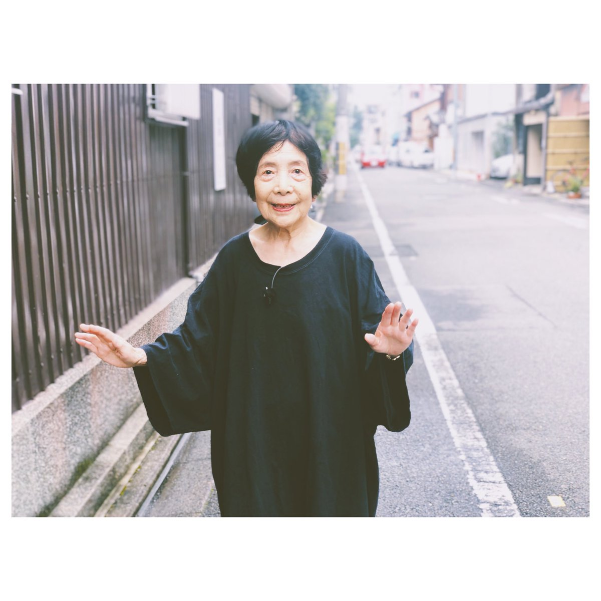 #敬老の日 ということで、おばあちゃんに俺の衣装を着て貰って撮った写真。 #テンゴちゃん #まごふく