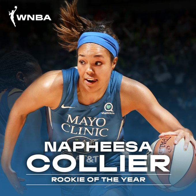 Congrats to @PHEEsespieces on being named the #WNBA 2019 Rookie of the Year!   Full release ➡️https://t.co/bBpxRk