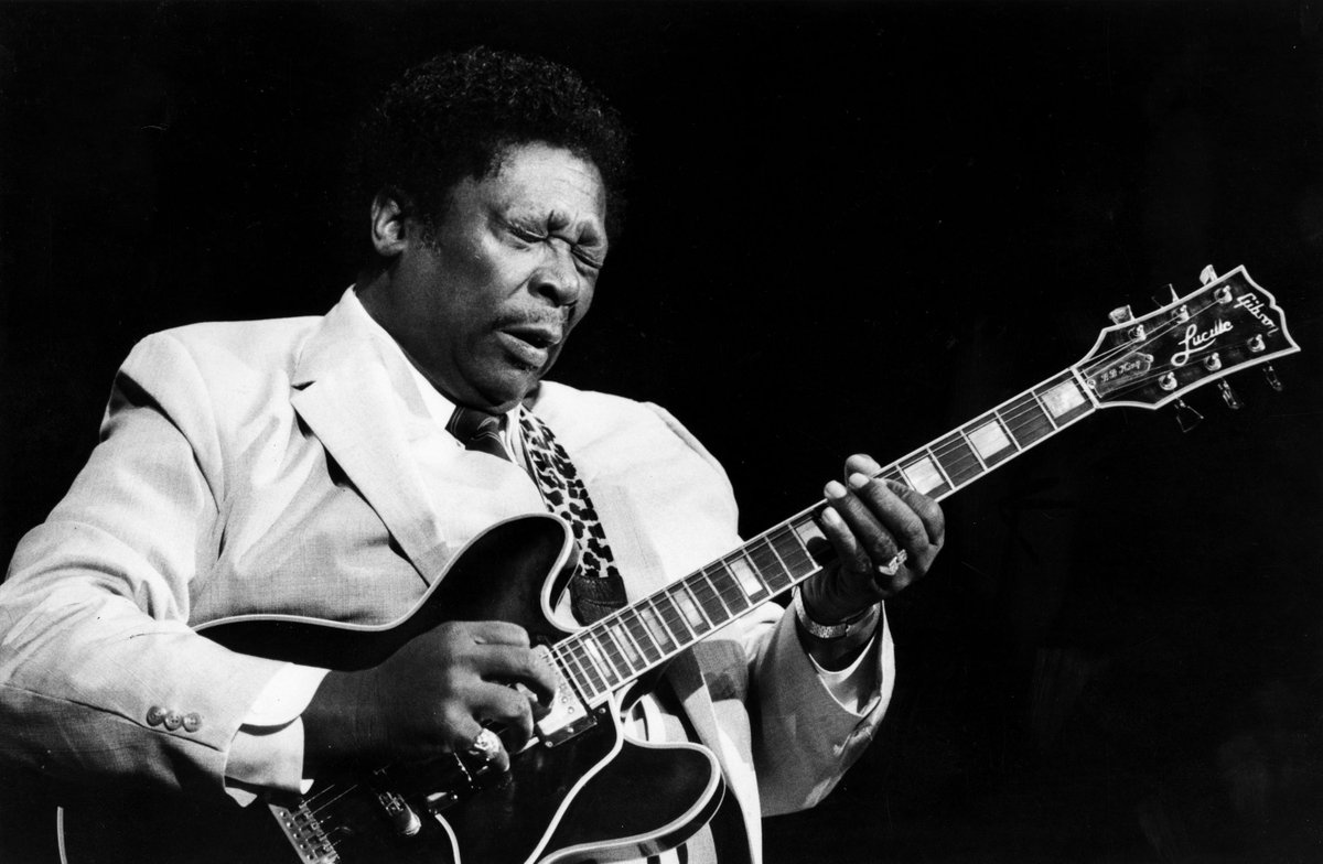 BB King would've turned 94 today. Happy Birthday, Legend.