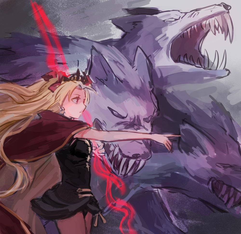 エレちゃんと地獄の番犬とたまに遊びに来る兵器