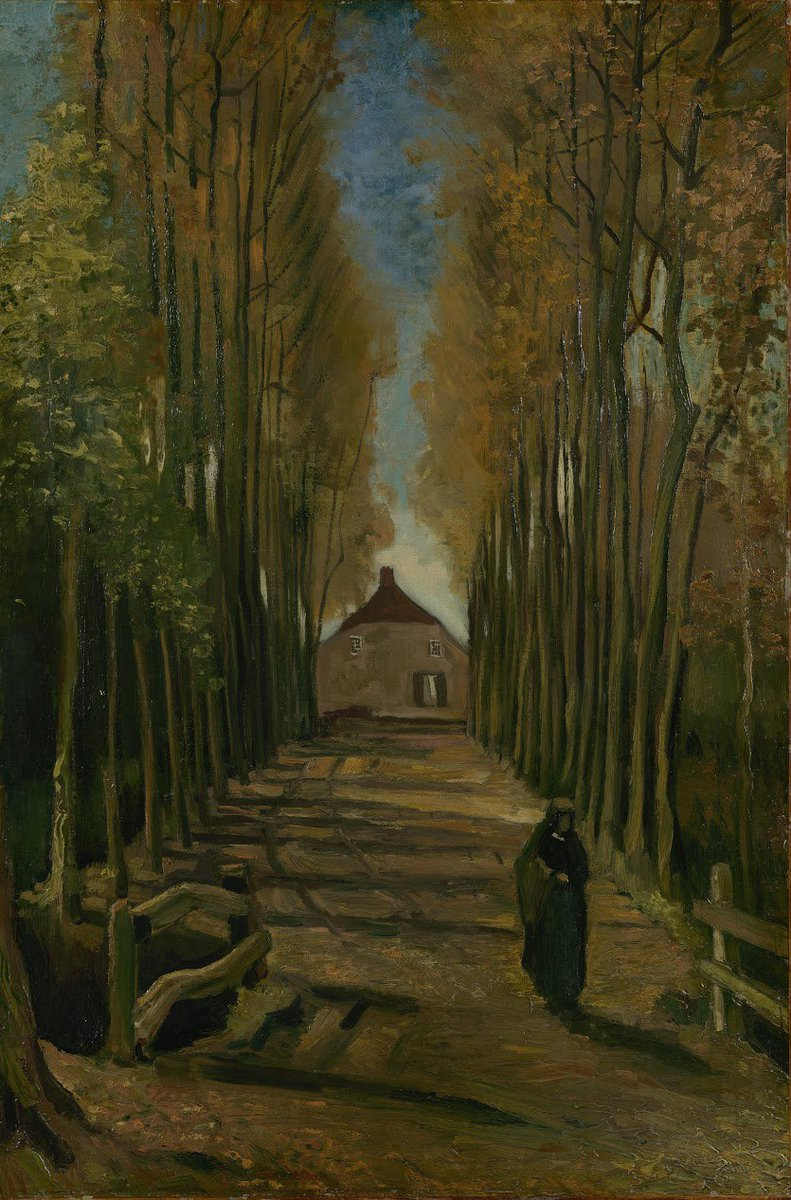Van Gogh loved walking. As a child, he took long walks alongside the fields and through woods from Zundert, the village where he was born. Where do you like walking the most? #VanGoghWanders Ready to find out more about Vincent's love for nature? vangogh.nl/kjAf50vM8OP