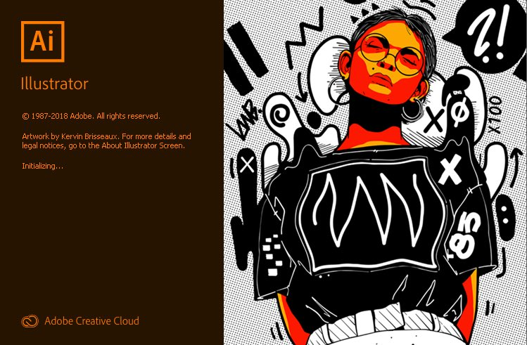Finally figured out who this is on #adobeillustrator launch screen #AlexandriaOcasioCortez. Least that's who I want it to be! <br>http://pic.twitter.com/xNltbQGUt2