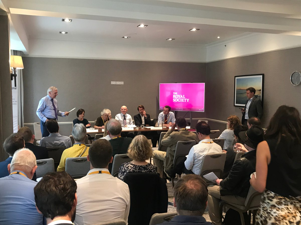A fantastic turnout at our #PeoplesList event with @BritishAcademy_, @royalsociety and @RAEngNews - thank you to everyone attending, as we discuss the big questions around research in the UK #LDConf