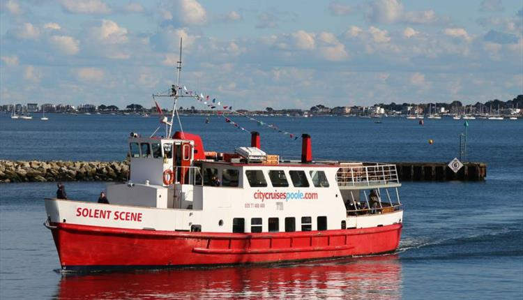 Take in fantastic views from our open deck as you pass picturesque Brownsea Island, Sandbanks Peninsula, Studland Bay and more. What a great way to spend with the family. ( http:// bit.ly/PooleCityCruis es  … )   #poole #cruise<br>http://pic.twitter.com/8xthBNSH7J