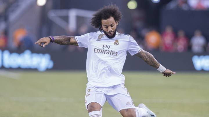 🚨 Nouvelle blessure au Real Madrid ! Marcelo souffre d'une cervico-dorsalgie post-traumatique. Il sera absent face au PSG.
