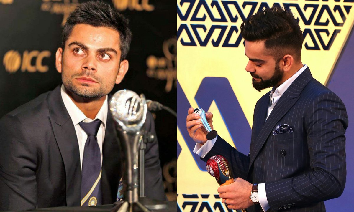Man of Awards  6 #ICC awards as a player Most for any other cricketer . . @imVkohli  #AdvanceHBDKINGKOHLI<br>http://pic.twitter.com/V6UX3Mclv5