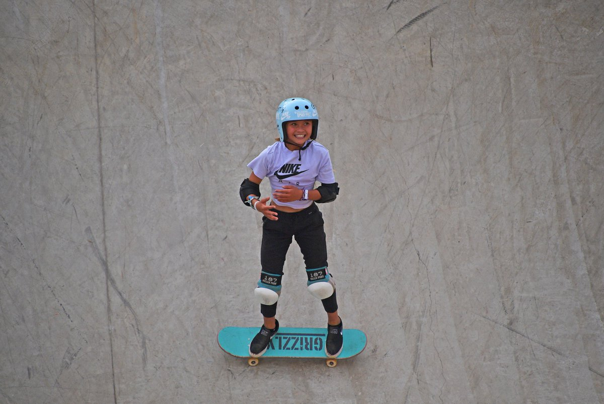 🛹🇬🇧 At 11-years-old, Sky Brown is on track to becoming Team GB's youngest-ever summer Olympian after winning bronze at the Park World Championships in São Paulo!  Skateboarding will make its Olympic debut in Tokyo 2020. https://t.co/rMgLE7qdNV