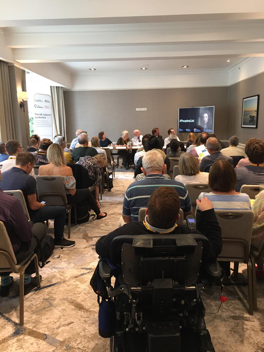 Were pleased to be at the #LDConf with the @royalsociety, @RAEngNews and @acmedsci to discuss a #PeoplesList of priorities for investment in #research and #innovation. Were united in our goal of seeing 2.4% of GDP invested in R&D.