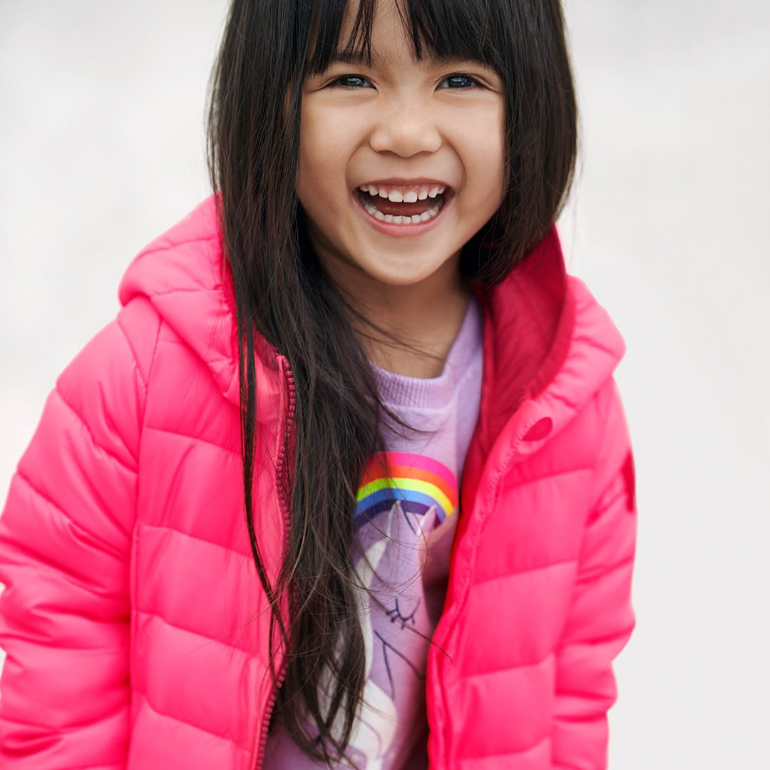 Bright idea: leggings to live in and a perfect ColdControl puffer. likeshop.me/gapkids #GapToSchool