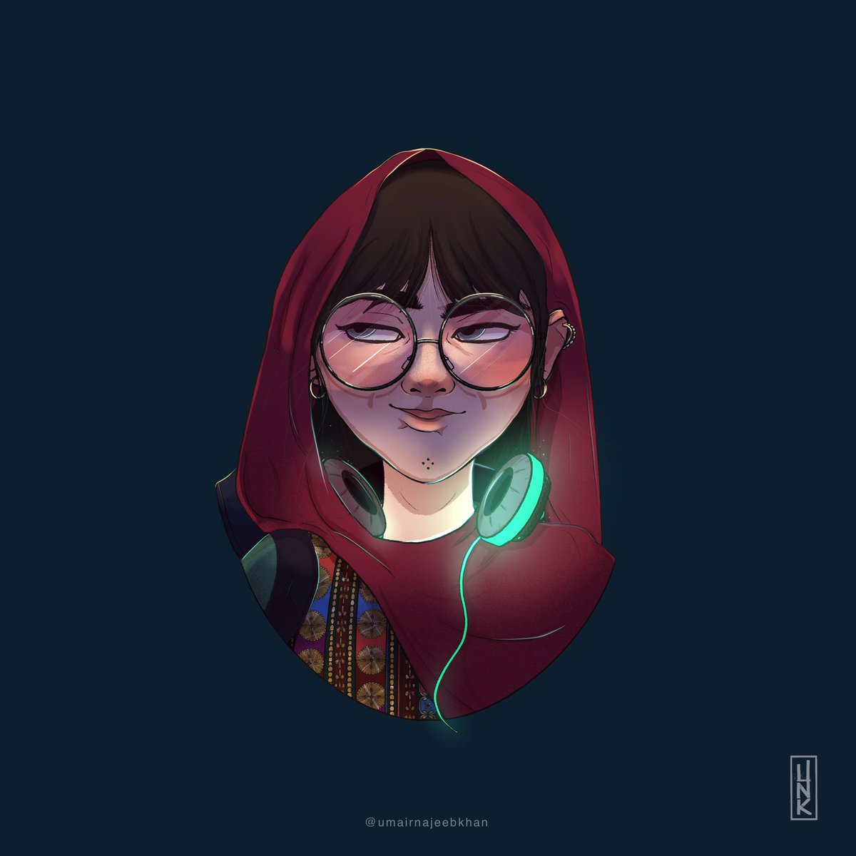 A quirky Pakhtun hacker girl from Swat with an ability to foresee the future? The youngest member of the team is here 🤞🏽