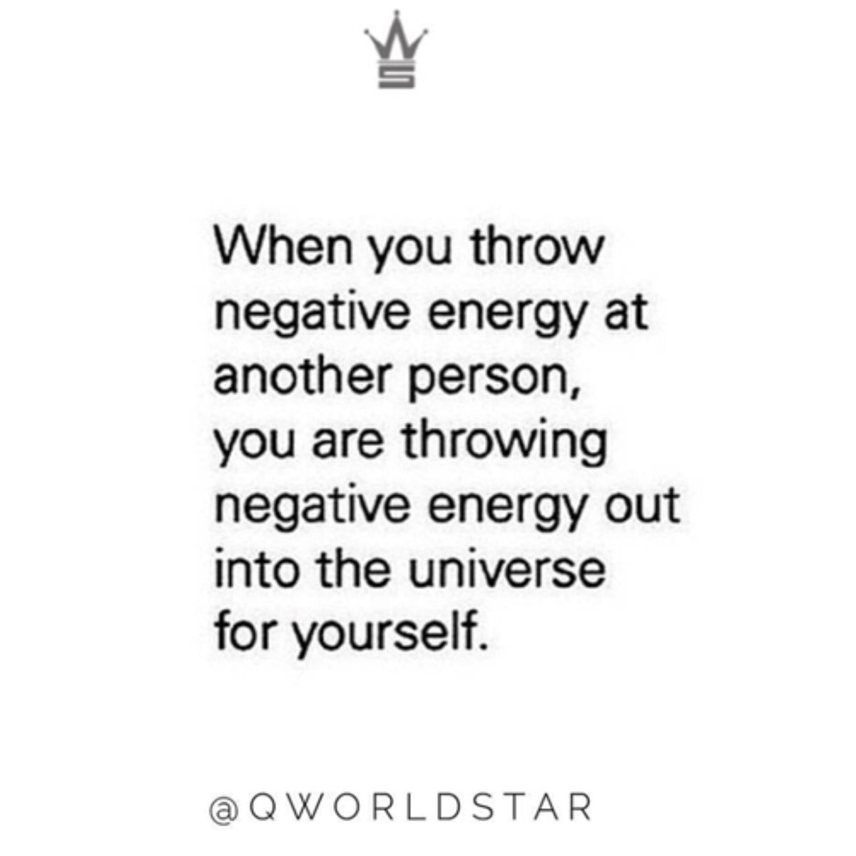 """""""That's just the way Karma works..."""" 💯 @QWorldstar #PositiveVibes"""