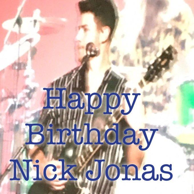 Happy 27th birthday to my favorite Jonas Brother: Nick Jonas!