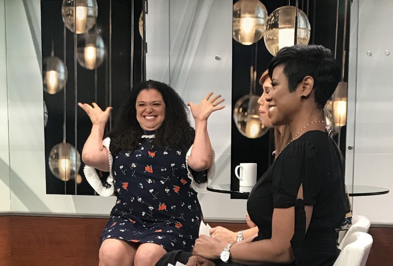 Mood because @MichelleButeau is telling us about #firstwivesclub at 11:30! @FirstWivesTV @betplus