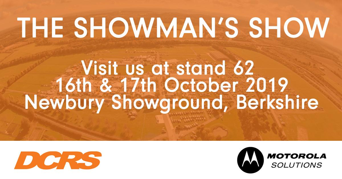 One month to go until @TheShowmansShow. Make sure to visit Ray & Steve at the DCRS stand! #showmansshow #showmans19 #outdoorevents #twowayradio