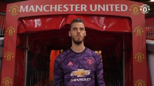 This is his home. @D_DeGea #MUFC
