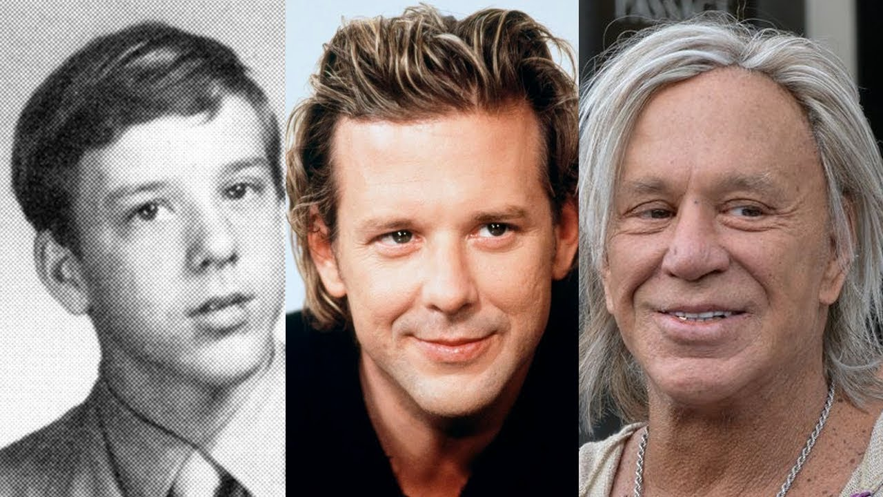Happy Birthday to Mickey Rourke, who hasn\t changed a bit