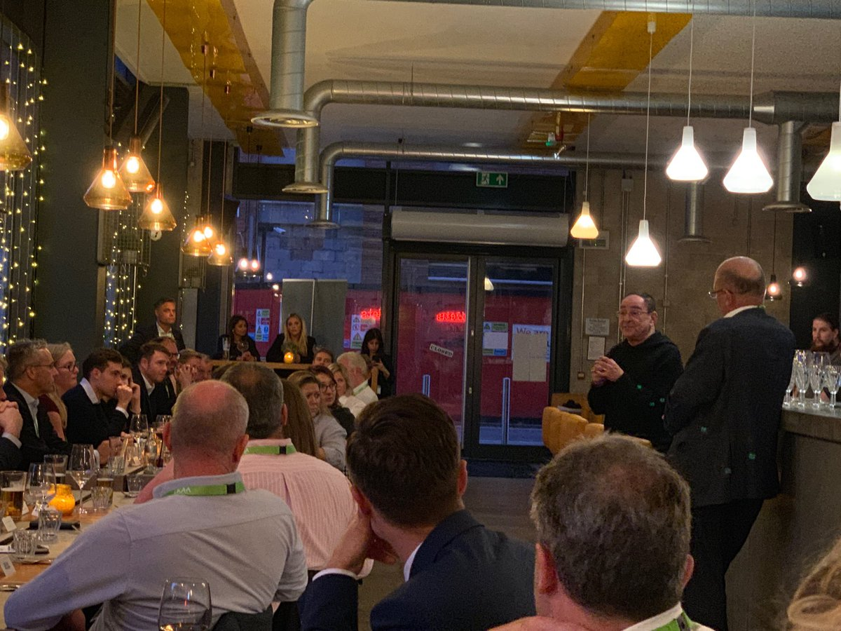Sir Howard Bernstein stresses importance of vision and leadership in urban regeneration #ManchesterLife #theUKAA #CustomerExperience
