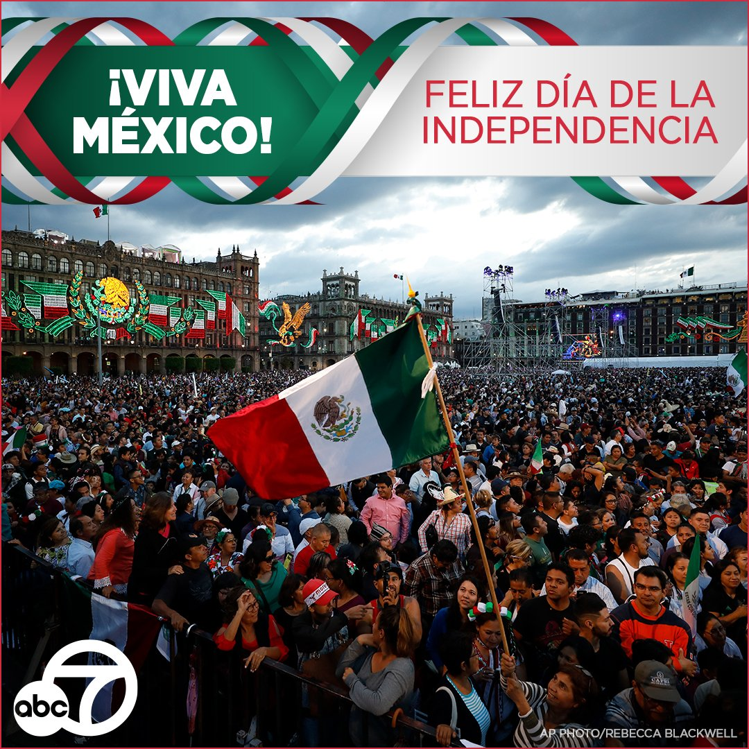 Today is #MexicanIndependenceDay, which marks Mexico's independence from Spain on Sept. 16th, 1810  <br>http://pic.twitter.com/06OoYFqnP8