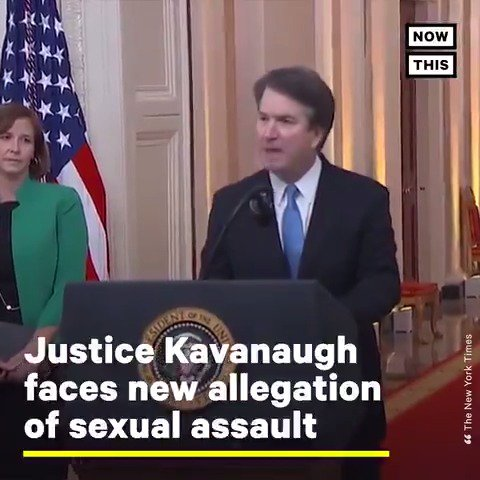 Justice Brett Kavanaugh is facing a new accusation of sexual assault that bears resemblance to another allegation made against him in 2018
