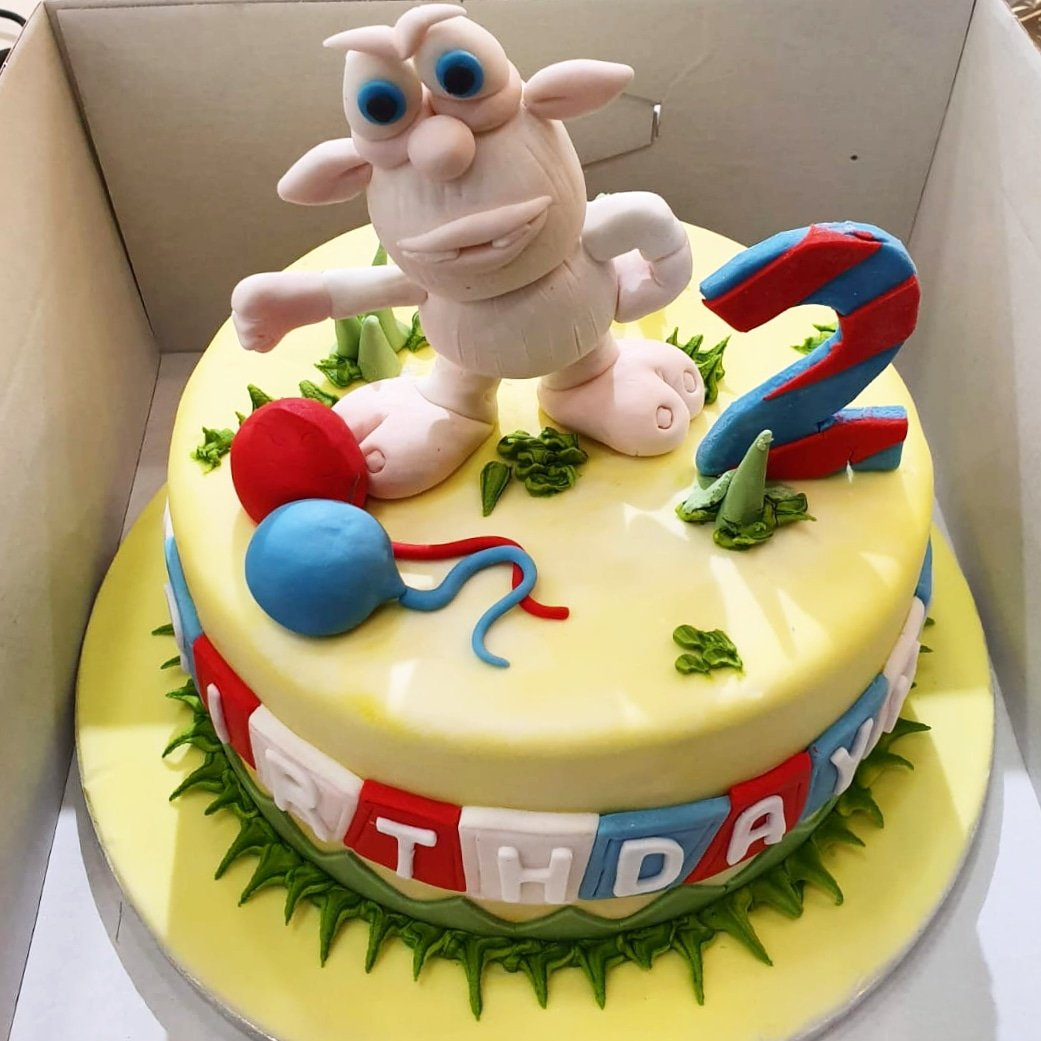 Enjoyable Aroma Patisserie On Twitter 2Nd Birthday Cake Made To Order Personalised Birthday Cards Sponlily Jamesorg